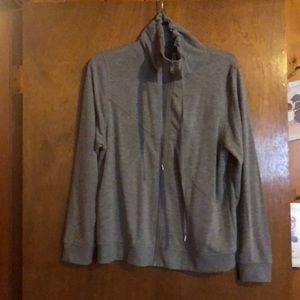 Grey Zip-up Sweatshirt